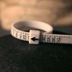 Adjustable ring sizer. $2.00, via Etsy.