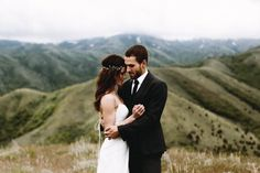 Epic mountain wedding photoshoot  by  Anni Graham Photography