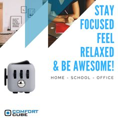 Comfort Cube is your new best friend at home, school or the office! #ComfortCube #GetComfortCube #StressRelief www.getcomfortcube.com School Office, The Office, Stress Relief, Cube, Homeschool, Best Friends, Feelings, Bestfriends, Best Freinds