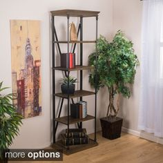 Shop for Appleton Five-Shelf Industrial Bookcase by Christopher Knight Home. Get free shipping at Overstock.com - Your Online Furniture Outlet Store! Get 5% in rewards with Club O!