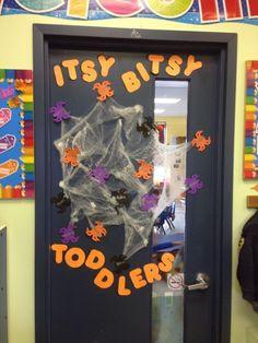 Halloween Door Decoration Ideas for your Classroom or Dorm Room - Hike n Dip