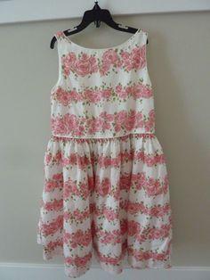 0ba8c31a1b5 Janie   jack girls size 6 sleeveless floral pink dress~mint condition
