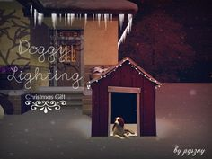 Doggy Lighting Christmas Gift Vol 1 by pyszny16 - Sims 3 Downloads CC Caboodle