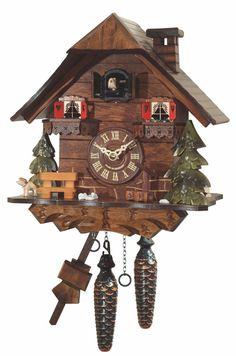 Reloj Cuco Dresden   Reloj Cuco de cuarzon, con musica.Lleva sensor de luz.Reloj aleman hecho en madera.Medidas aproximadas.... Eur:240 / $319.2
