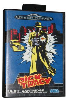 Dick Tracy for the Sega Mega Drive. One of my favourite games as a kid.
