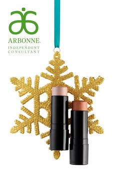 Absolutely ADORE this highlight/bronzing stick duo for Arbonne Holiday! This is LIMITED EDITION and it is as fabulous as it looks — get it now! (And if you're able to actually give it away, these are great stocking stuffers!) #Arbonne #ArbonneHoliday