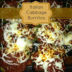 Italian Cabbage Burritos– with Quinoa! | Thrive: Faith, Family & Food