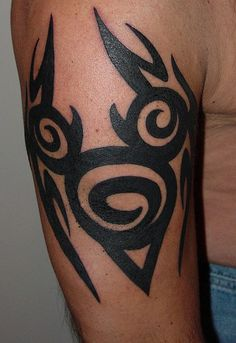 Hidden Mickey Mouse Tattoo | Tribal