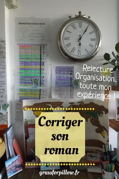 Comment corriger son roman quand on débute - Grass For Pillow Writing A Book, Writing Tips, My Books, Sons, Internet, St Louis, Business, Storytelling, Theory