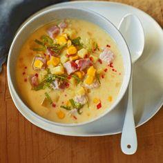 Kartoffel-Mais-Suppe