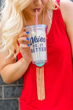 782d072341a62 Okies do it better acrylic tumbler from Lush Fashion Lounge Acrylic  Tumblers