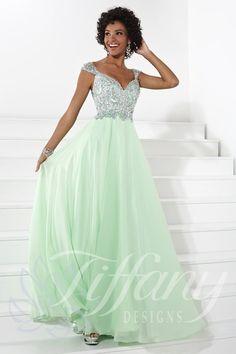 Everything Formals - Tiffany Designs Prom Dress 16085, $340.00 (http://www.everythingformals.com/Tiffany-Designs-16085/)
