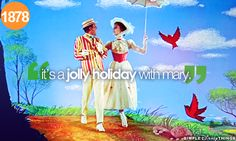 It's a jolly holiday with Mary!