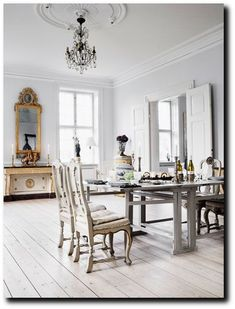 Gelskov Gods a manor house on the island of Funen in Denmark 5+ Nordic Homes Decorated Around White