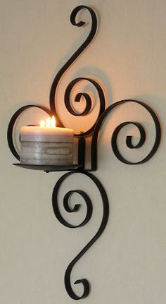 Wrought Iron Special Design Candle Holder / Wrought Iron Special Design Candlestick- Ferforje Özel Tasarım Mumluk / Wrought Iron Special Design Candlestick WhatsApp Support: 0536 920 4926 – 0532 643 3682 E-Mail: - Wrought Iron Decor, Iron Wall Decor, Iron Furniture, Steel Furniture, Furniture Buyers, Design Candle Holders, Wrought Iron Candle Holders, Candle Stand, Metal Stamping