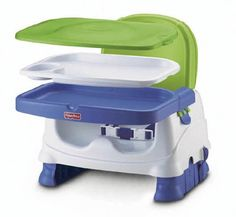 Fisher-Price Booster Seat, Blue/Green/Gray Fisher-Price http://www.amazon.com/dp/B00CSAWIP0/ref=cm_sw_r_pi_dp_iM91tb1BK7ESQ1B5