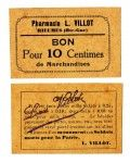 Printed matter - Currency - French Token Rieumes
