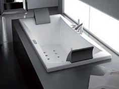 Vasche Da Bagno Da Incasso Piccole : Vasca da bagno idromassaggio da incasso aura uno jacuzzi europe