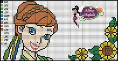 Disney Frozen Anna Pattern