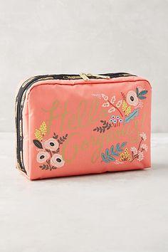 Rifle Paper Co. x LeSportsac Hello Gorgeous Makeup Bag