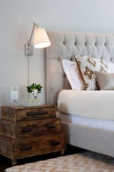 The best bedside tables. Interior inspiration for the bedroom: