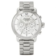 Coach Legacy Sport Stainless Steel Bracelet Watch - Polyvore
