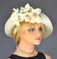 2eb16d06a1f Wedding Hat Headpiece Fascinator Kentucky Derby Hat Church Fascinator Hats
