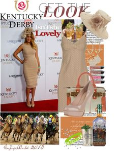 """""""DERBY DAZE: GET The LOOK"""" by enjoyzworld ❤ liked on Polyvore"""