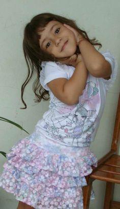 luluzinha kids ❤ love fashion ❤ Ela faz pose de luluzinha. Uma fofa!