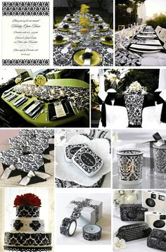 Damask Party Decorations Like The Theme