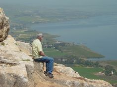 Contemplation - Mount Arbel overlooking the Sea of Galilee