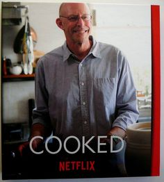 Cooked Netflix 2016 NEW Complete Miniseries FYC Emmy Promo Book 2 DVDs