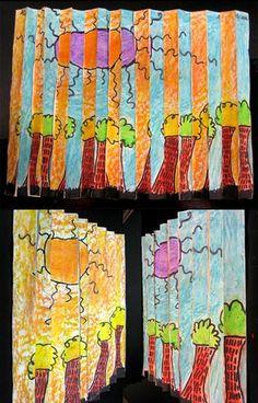 2nd Grade Op-Art by ramahughes, via Flickr
