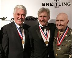 "At the 13th Annual ""Living Legends of Aviation"" Awards, President Uchtdorf stood on the same stage as Harrison Ford and John Travolta as he presented an award to LDS pilot Gail Halvorsen, also known as the Candy Bomber."