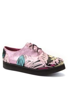 Iron Fist Pink Grave Dancer Brothel Creepers