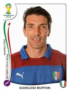319 Gianluigi Buffon - Italia - MUNDIAL BRASIL 2014