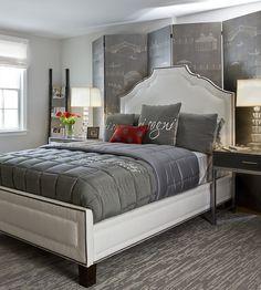 chambre gris rouge5