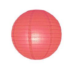 Lámpara de papel rojo / varias medidas – La Fiesta de Olivia