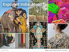 Vision 2: Spring/Summer 2018 Print Trend Report - Exported India
