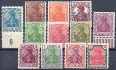 Deutsches Reich ( 1920 / 1921 ) - aus Mi.Nr. 140 / 153 */ **