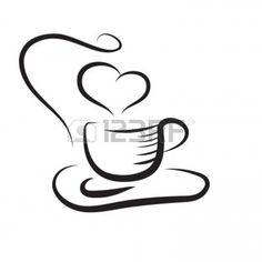 taza de café Foto de archivo - 6486319