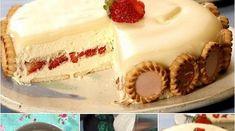 Torta Holandesa Soberana de Morango com Chocolate | Receitas Soberanas