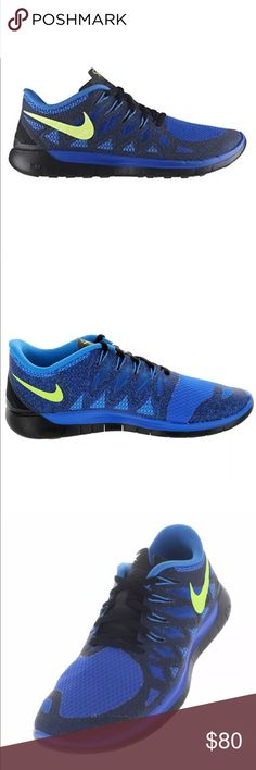 f398cb58ffa1 Men s Nike Free 5.0 Running Shoes Sz 11 Blue Brand New Without The Box! The