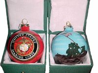 The United States Marine Corps (USMC) Christmas ornaments to ...