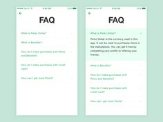 FAQ mobile app how to frequently asked questions ux ui answer question explain answers questions faq Ios App Design, Design Web, Wireframe Design, Android Design, Web Design Tools, Mobile Ui Design, User Interface Design, Tool Design, Page Design