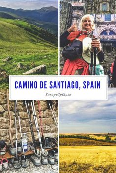 """Camino de Santiago: A Journey for the Body, Mind, and Soul """"A pilgrimage across northern Spain to the sanctuary at Santiago de Compostela is the finest journey in Spain."""