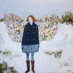tess wore wings made of the spring by amanda blake