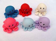 Birthstone  Little Octopus Mini Marble Friend by mulberrymoose, $10.00