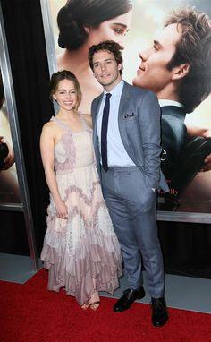23 Mai 2016 New-York Me Before You Emilia Clarke et Sam Claflin