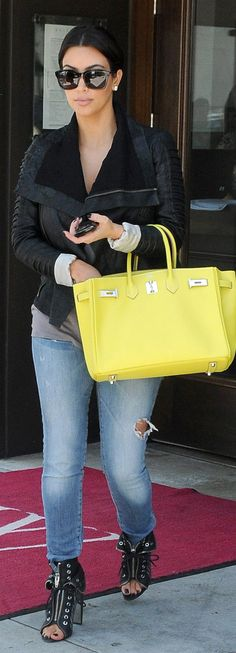 I love the color of this Hermes Birkin